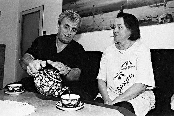 Vladimír Tesařík s manželkou