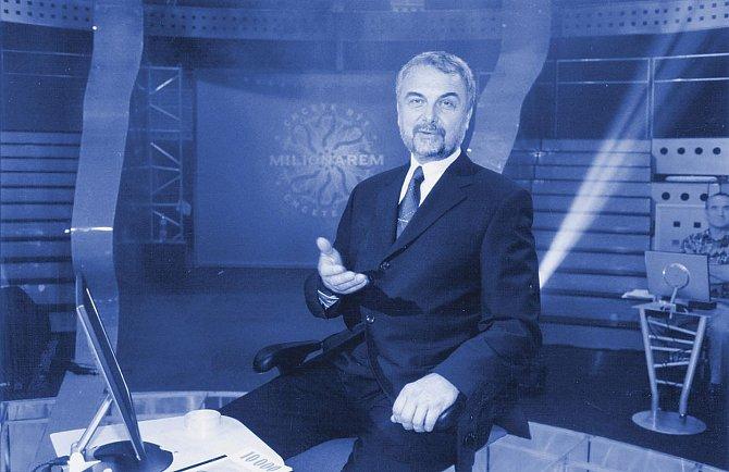 Vladimír Čech uváděl soutěž Chcete být milionářem