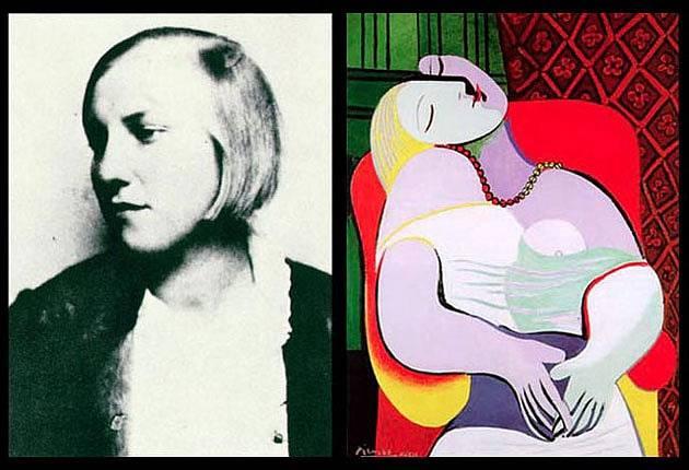 Marie-Thérèse Walter, vztah s ní Picasso dlouho utajoval. Až do září 1935, kde se jim narodila dcera Maja.