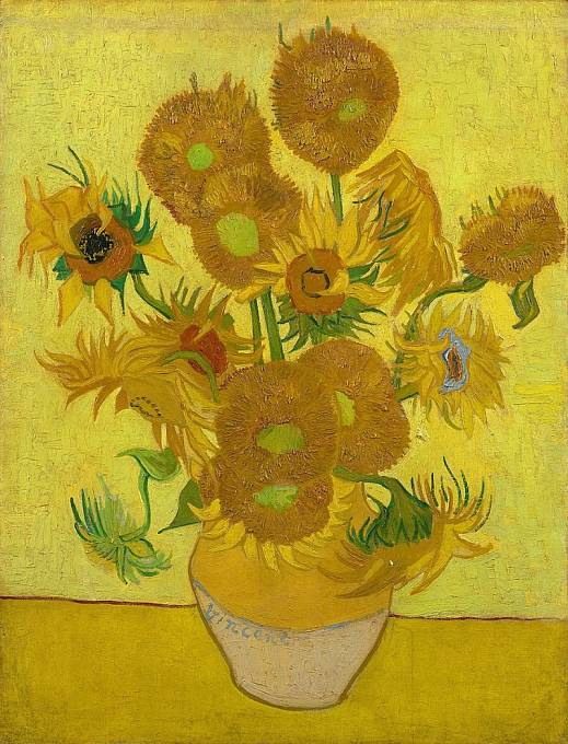 Slunečnice - Vincent van Gogh