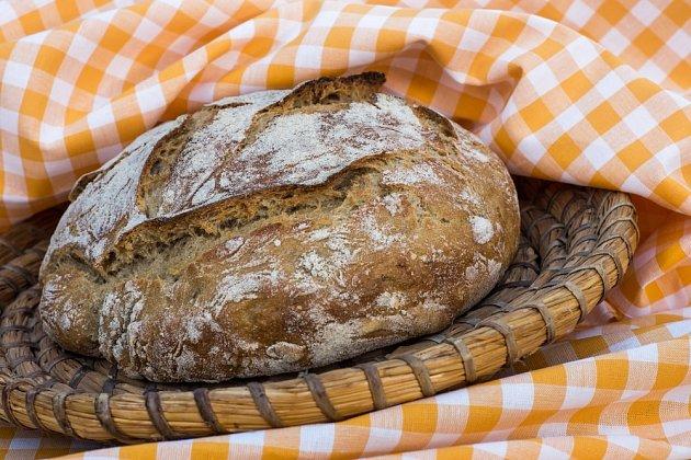 Domácí chléb můžete připravit z jakékoli mouky.