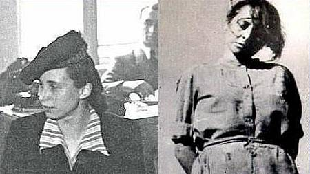 Jenny-Wanda Barkmann v průběhu soudního procesu a po vykonání rozsudku