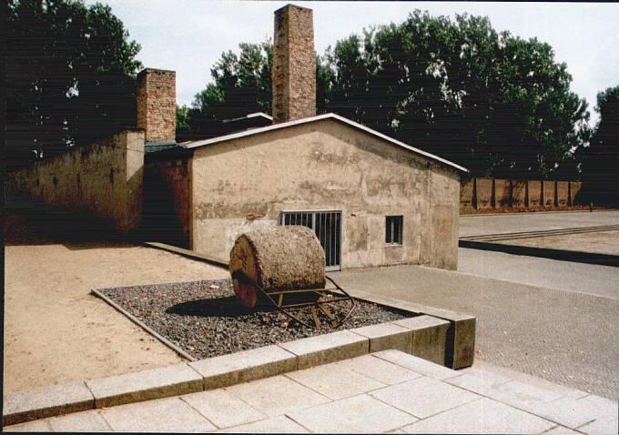 Krematorium v Ravensbrücku.