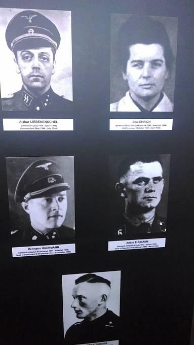 Vedení koncentračního tábora Majdanek.