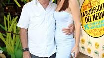 Petr Janda s manželkou