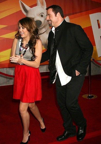 John Travolta s Miley Cyrus