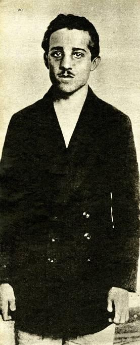 Atentátník Gavrilo Princip trpěl tuberkulózou.