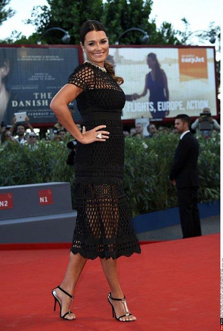 Alena Šeredová si přivlastnila mnohé z italského stylu.