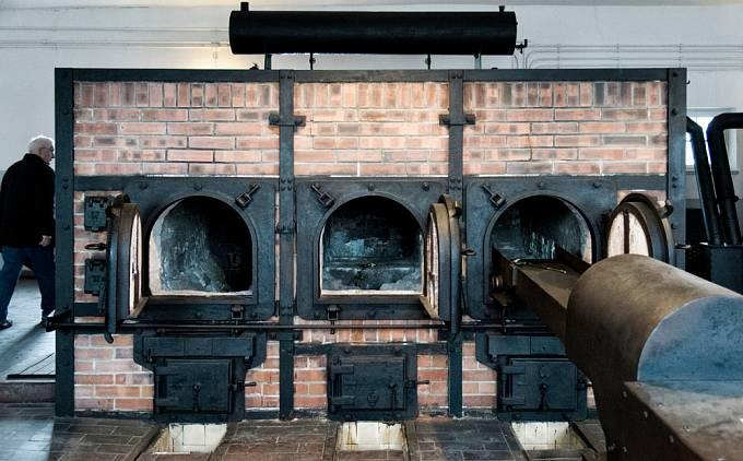 Pece krematoria v Buchenwaldu