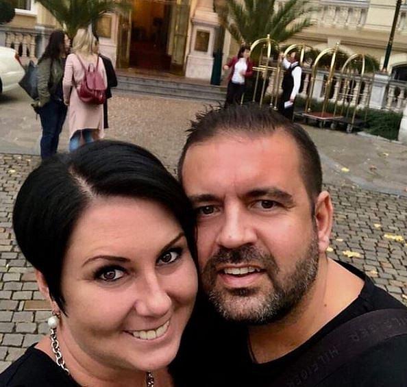 Radek Kašpárek se svou partnerkou