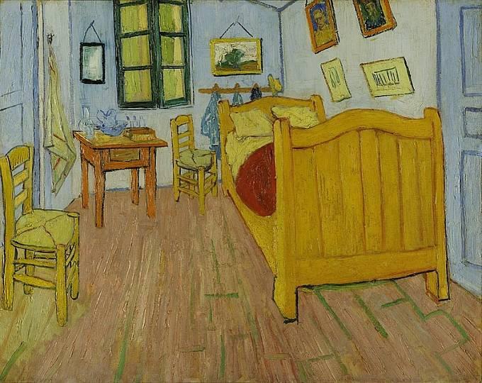 Ložnice v Arles - Vincent van Gogh