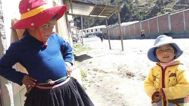 Děti v Peru