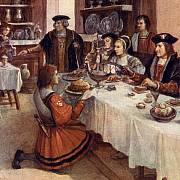 Ochutnávač na vlastním životě testoval, zda královo jídlo není otrávené.