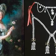 Marie Antoinetta a kopie náhrdelníku, který zničil její pověst.