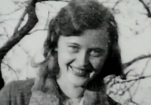 Mladičká Ilse Köhler (Koch), civilní fotografie.