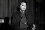 Luise Danz u soudního procesu Osvětim, rok 1947.