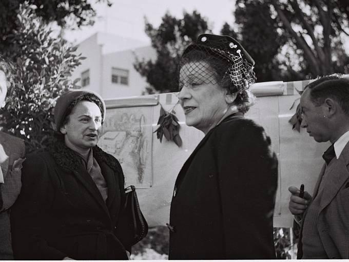 Organizace WIZO spoluzakládala v roce 1920 v Londýně Dr. Věra Weizmann (manželka prvního izraelského prezidenta Chajima Weizmanna).