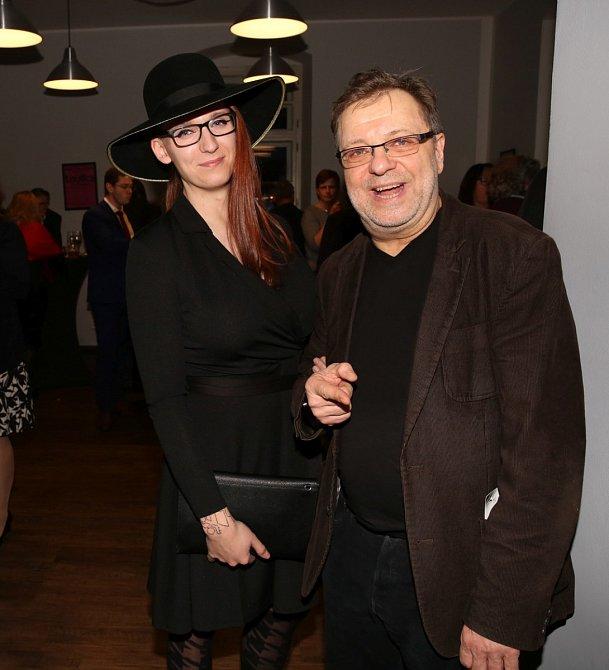 Milan Šteindler s přítelkyní.