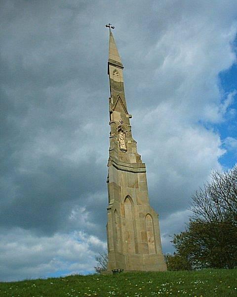 Památník obětem epidemie cholery epidemie z roku 1832 v Sheffieldu, Anglie.