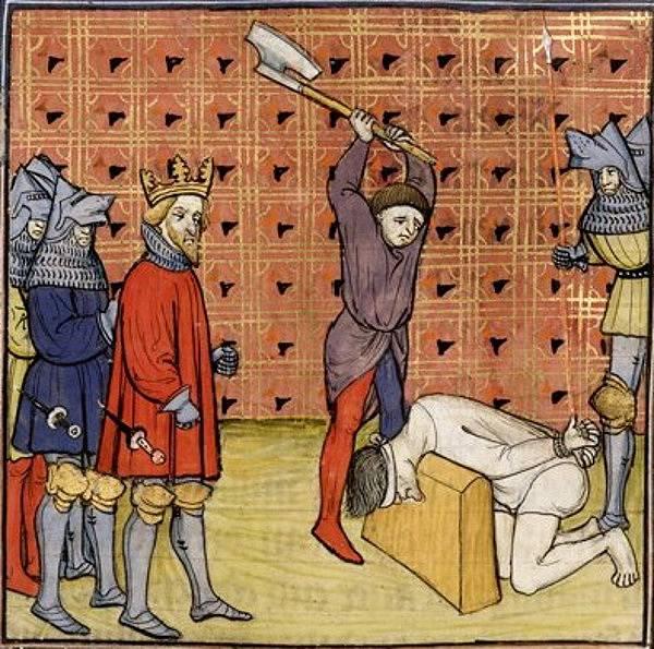 Karel II. nechal popravit řadu protivníků.