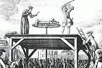 Poprava francouzského zbojníka Cartouche
