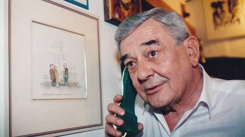 Josef Vinklář byl jeden z nejobsazovanějších herců
