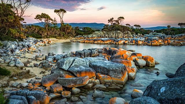 Bays of Fire, Austrálie