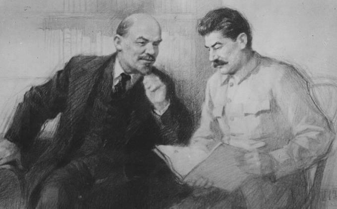 Lenin se Stalinem