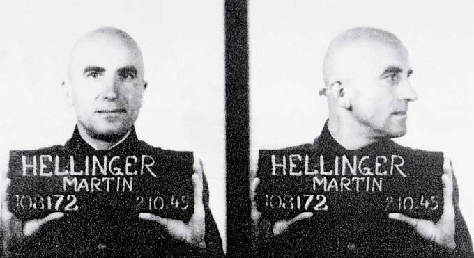 Dr. Martin Karl Hellinger byl zubařem v koncentračním táboře Ravensbrück.