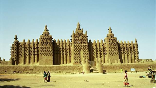 Timbuktu je legendární starobylé město v Mali