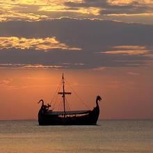 Ukazoval Vikingům sluneční kámen polohu slunce?