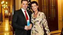 Martin Dejdar s manželkou Danielou