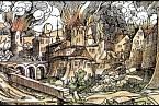 Požár Malé Strany a Hradčan v roce 1541