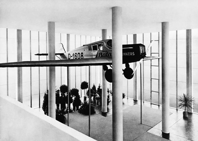 Památník Tomáše Bati a osudné letadlo Junkers F13.
