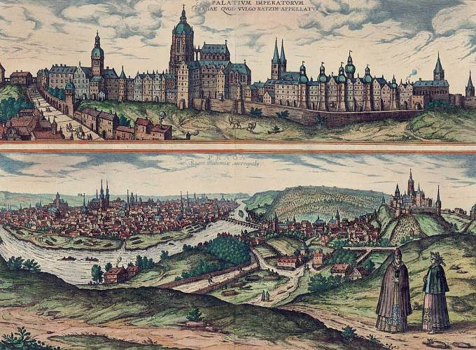 Praha v roce 1595