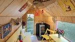 Bydlení na 15 m2 je útulné a originální.