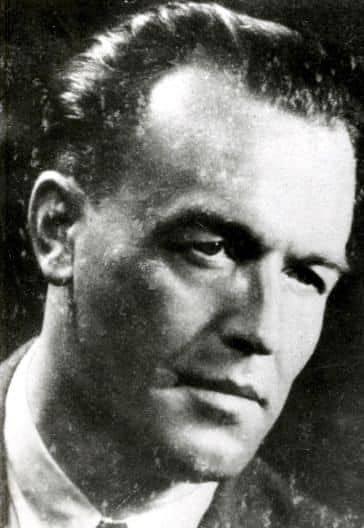 """Nacistický lékař Aribert Heim. Za své zvrácené lékařské pokusy na vězních si vysloužil přezdívku """"Doktor smrt"""" či """"Řezník z Mauthausenu"""""""