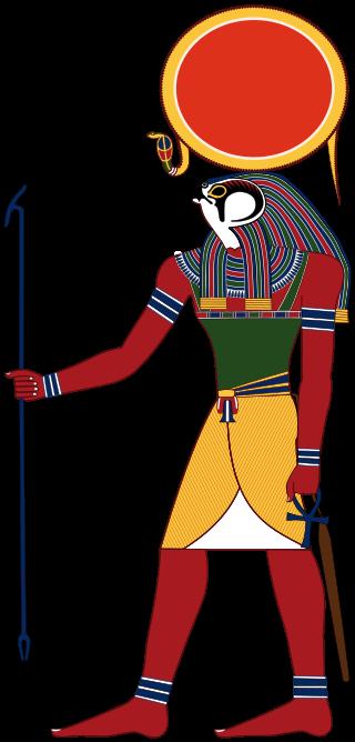 Bůh Re (Slunce), je nejvyšším ze staroegyptských bohů. Řídil plynutí dnů, měsíců a ročních období.