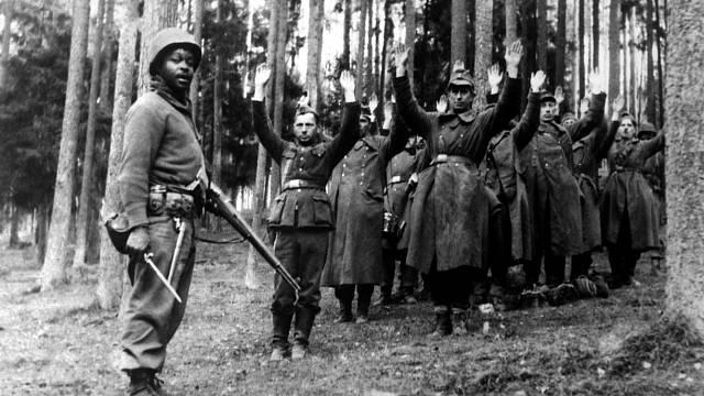 Pokud se Němci dostali do rukou Američanů, špatně se jim nevedlo.