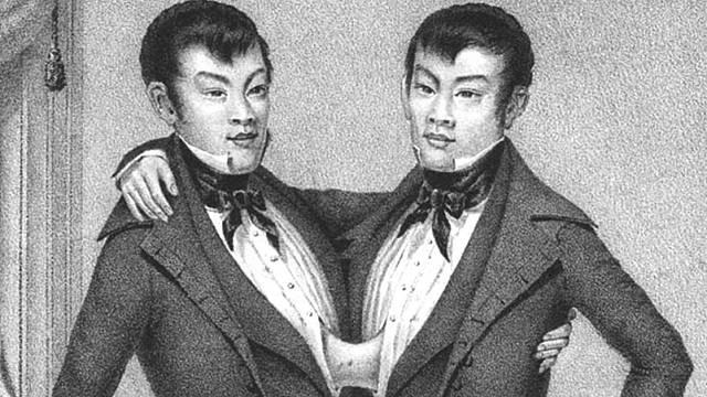 Siamská dvojčata Chang a Eng Bunkerovi