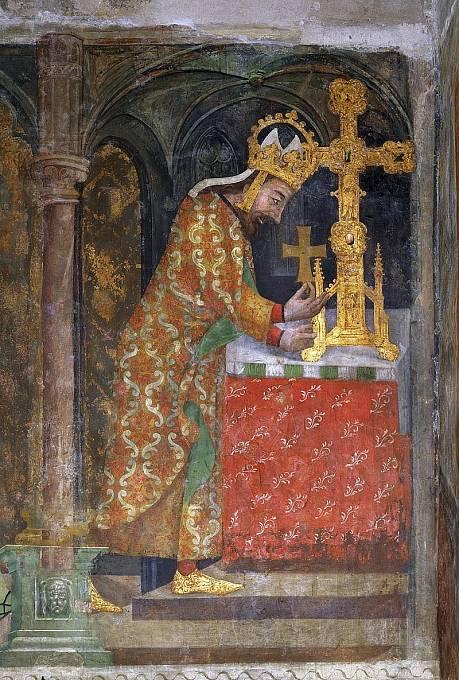Karel IV. měl po úrazu shrbené držení těla.