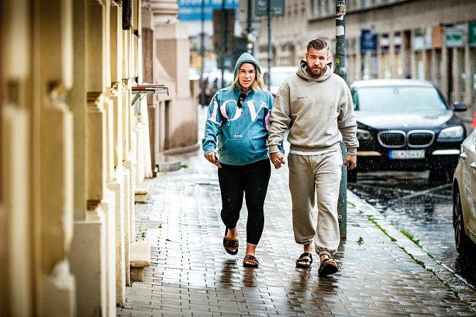 Dominika Cibulková s manželem