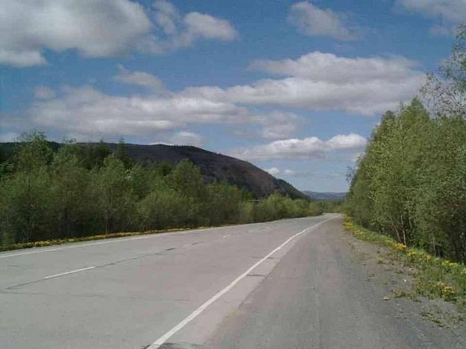 Část Cesty kostí je dnes asfaltová.