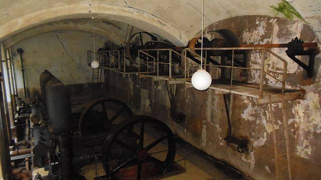 Stará čistírna v Praze Bubeneči