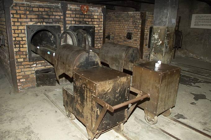 Krematorium v Osvětimi