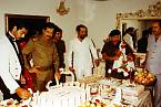 Saddám Husajn byl zvyklý na luxusní život a nehodlal to měnit ani v časech války.