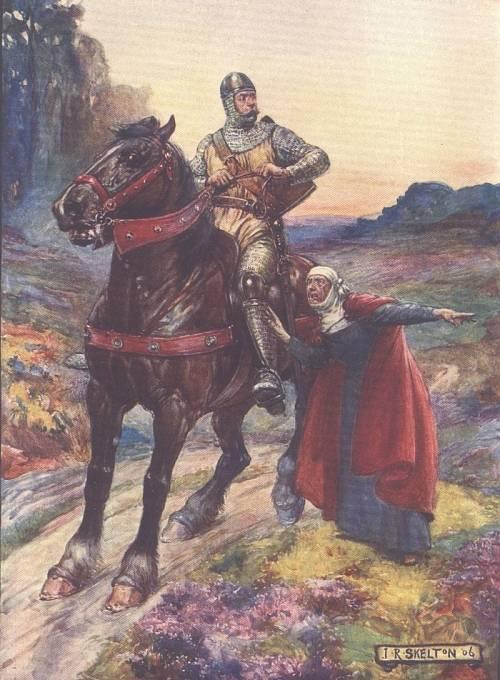William Wallace v dětské knížce z roku 1906