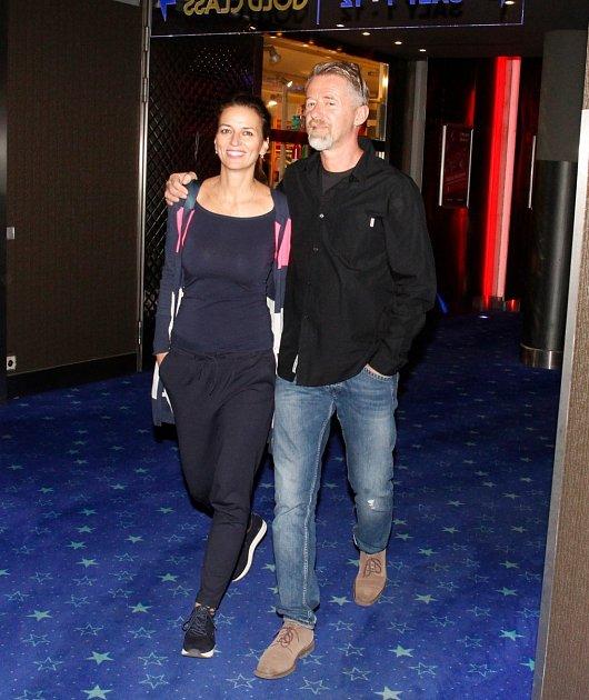 Adéla Gondíková s Jiřím Langmajerem