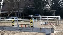 V Ludvíkově pod Smrkem si herečka pořídila ranč a koně.