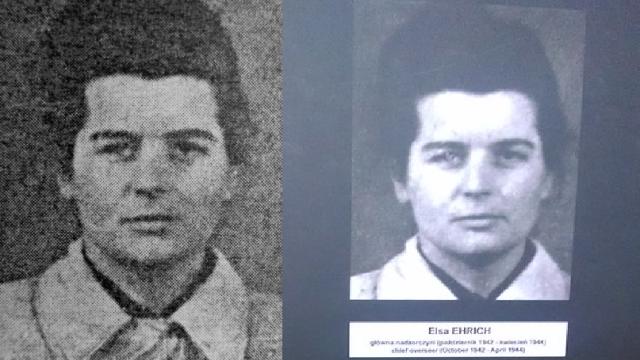 """Elsa Lieschen Frida Ehrich, zvaná """"Elsa"""" byla další ze série sadistických dozorkyň. Za své zločiny byla 26. října 1948 ve věznici v Lublinu popravena."""